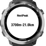 次のピーク(頂上)までの高度と距離がわかるPeakViewアプリをEDGEに対応